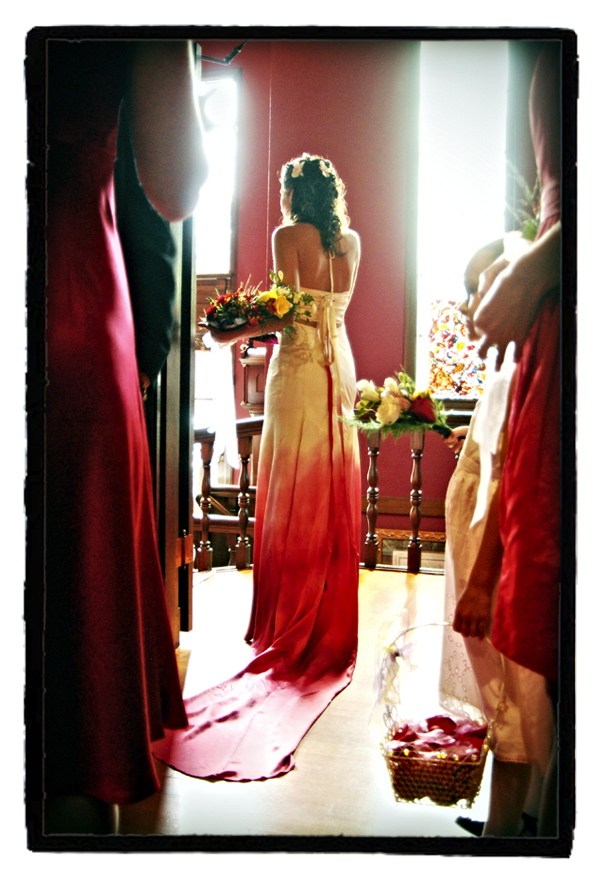 Redweddingdresssara